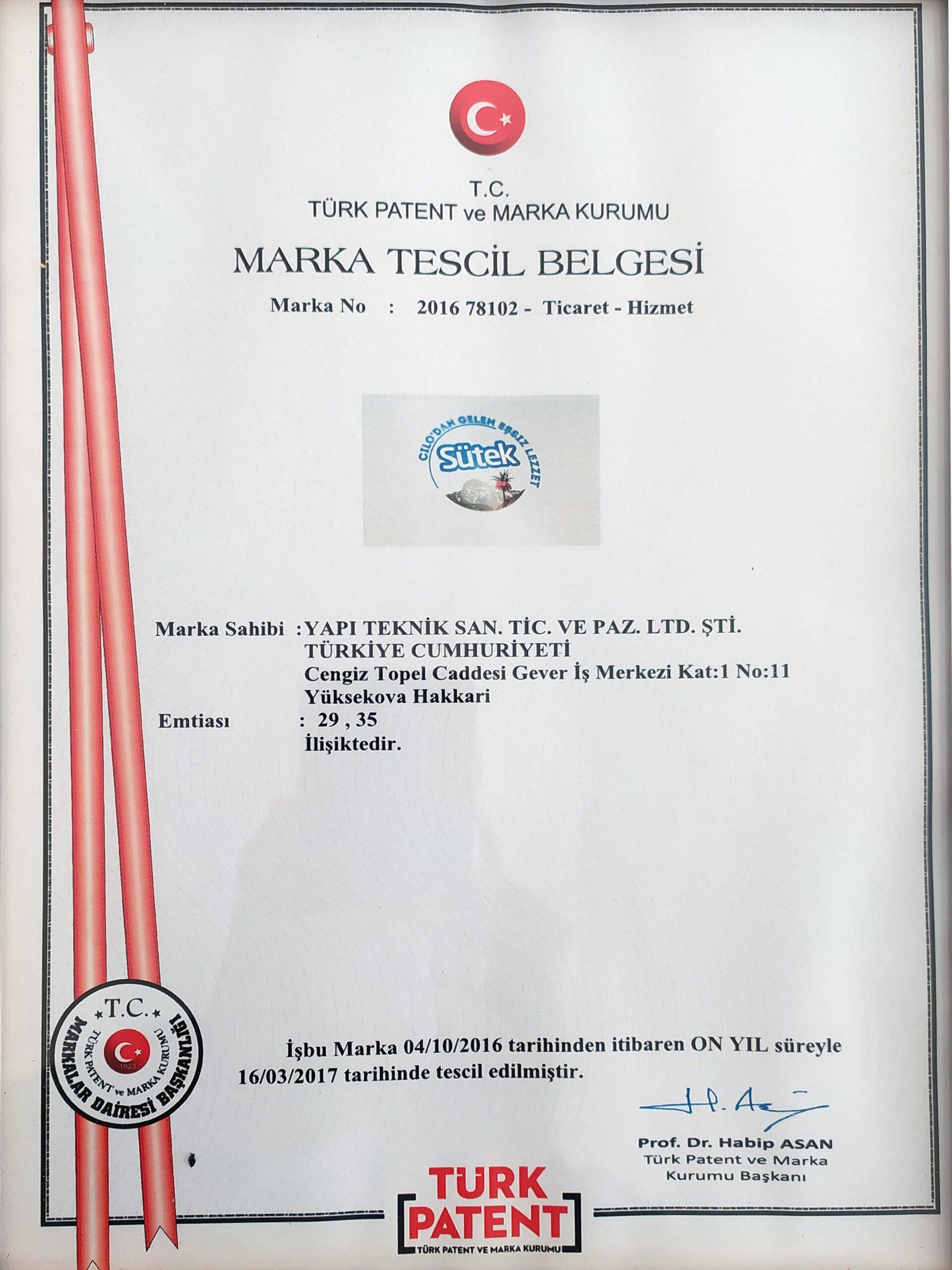 MARKA-TESCİL